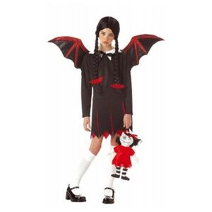 Very Batty Evil Vampire Fairy XL Wednesday nwt